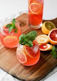 Springtime Mocktails and Cocktails